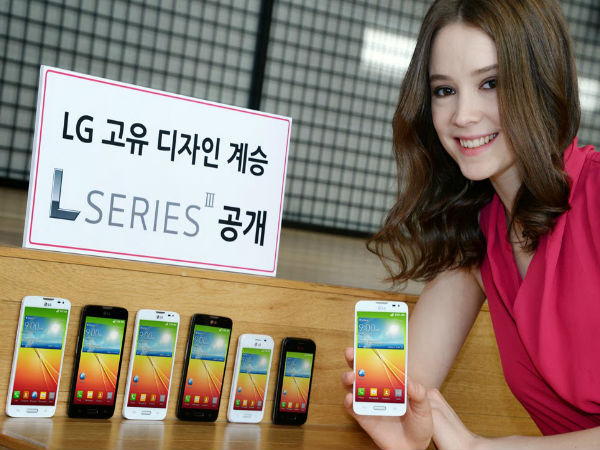 LG L series III Budget Android Phones: