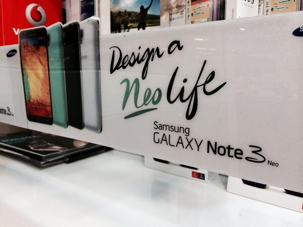 Samsung Galaxy Note 3 Neo Listed with Discounted Price At Rs 37,999
