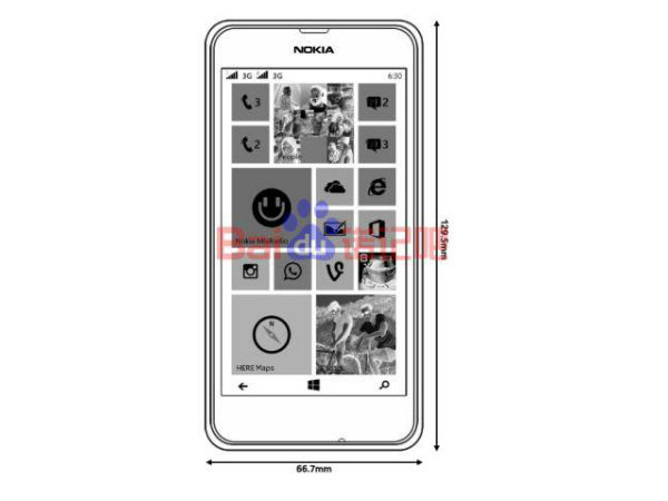 Nokia Lumia 630: 4.5 Inch Smartphone with Dual SIM Pops Up Online