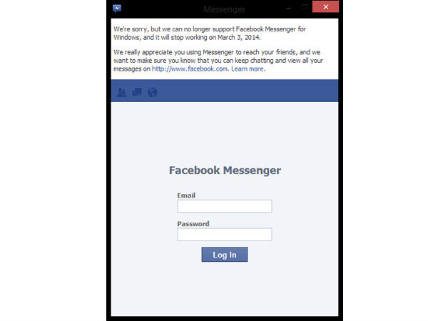 Facebook Messenger For Windows Will Shut Down On March 3