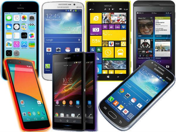 top new mobile phones 2014
