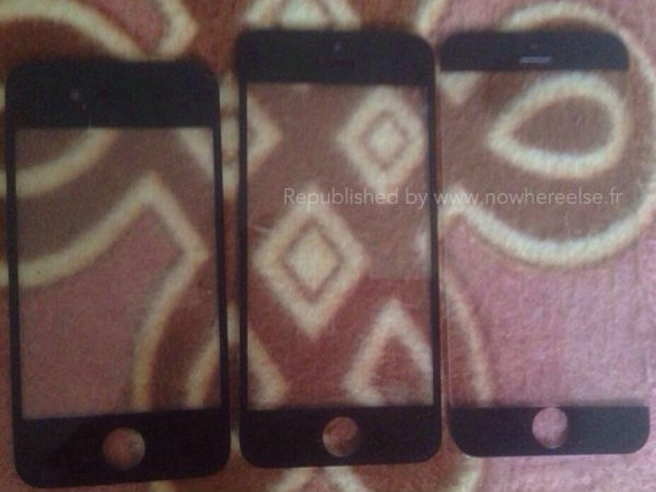 iPhone 6: Alleged Picture of Apple's Next-Gen iPhone Front Panel Leak