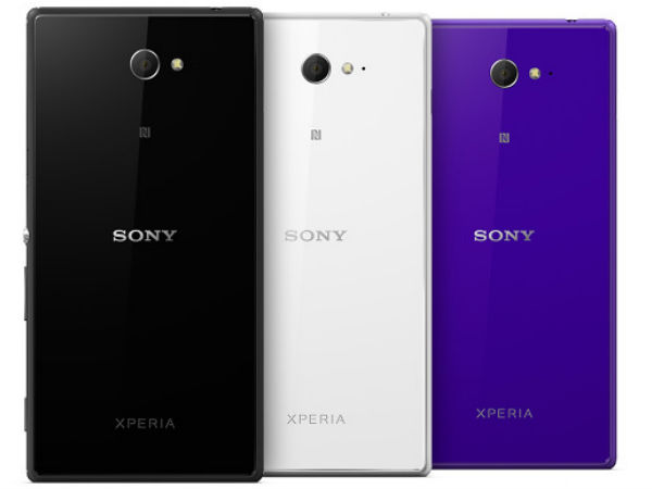 Sony Xperia M2 Price Detail Leaked Ahead of Official Release