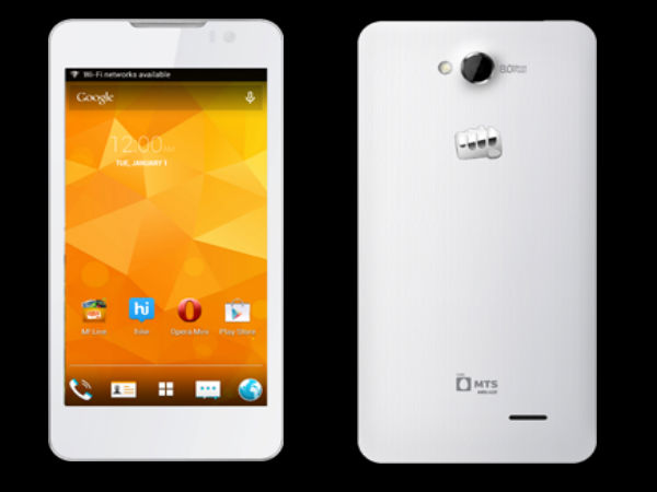 Micromax Canvas Blaze HD EG116 Smartphone Now Up For Sale For Rs 16000