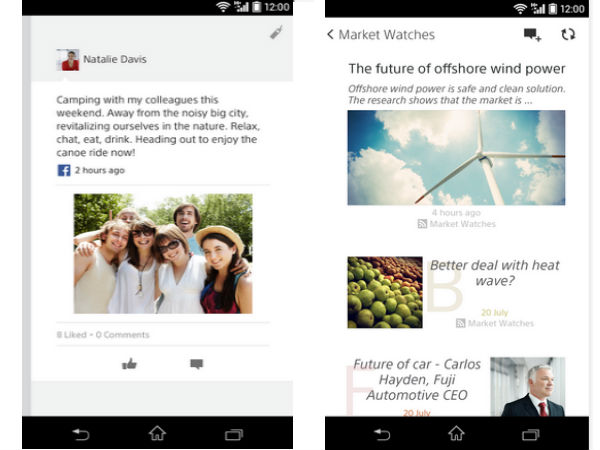 Sony's Socialife News App Now Available for All Android Phones