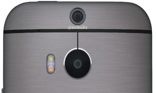 HTC One 2: Close Up Shot Of Dual Sensor Camera Leaked