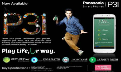 Panasonic P31: 5 Inch Quad Core Smartphone Goes Official in India