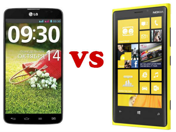 Nokia Lumia 1520 Vs LG G Pro 2: A Detailed Specification Comparison