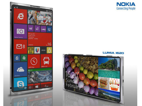 Nokia Lumia 1620 Concept Phone Appears Online With Exuberant Specs