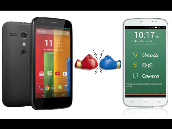 Panasonic P31 Vs Motorola Moto G: Who Stands the Strongest