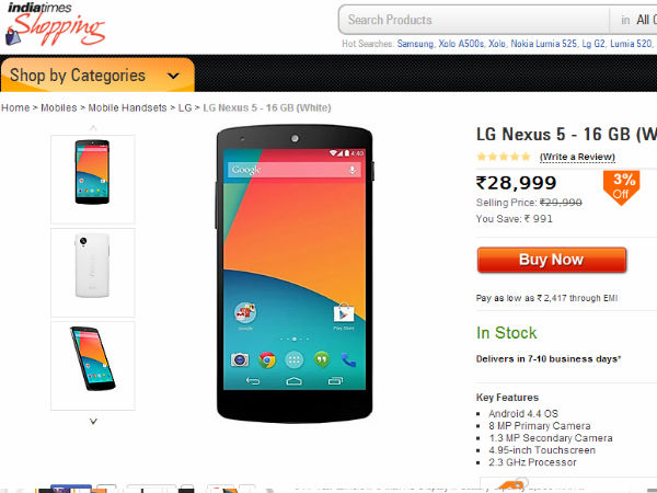 Buy At Price Of Rs 28,999