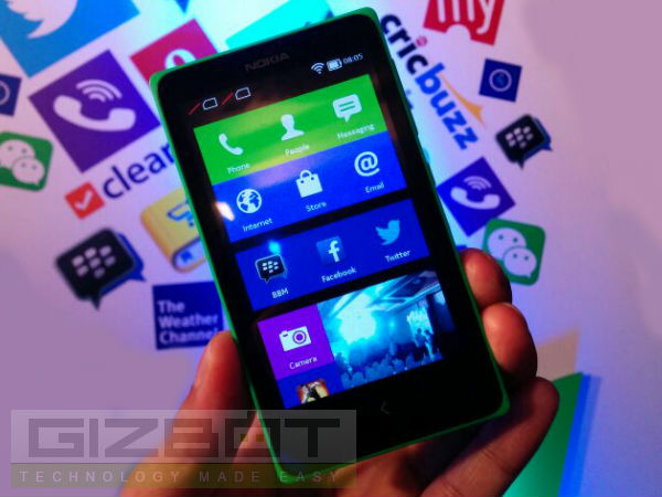 Nokia X Officially Released for Rs 8,599: Top 5 Features
