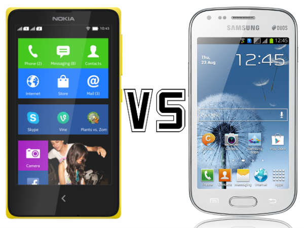 Nokia X Vs Samsung Galaxy S Duos S7562: Low-end Market the Target