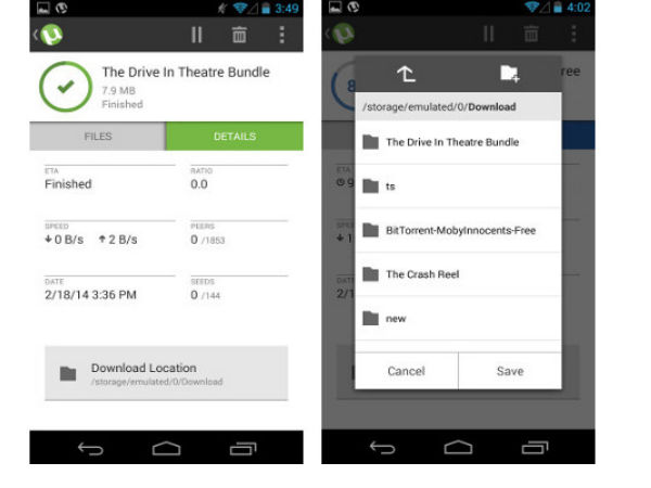 uTorrent App For Android Update Brings New UI and More