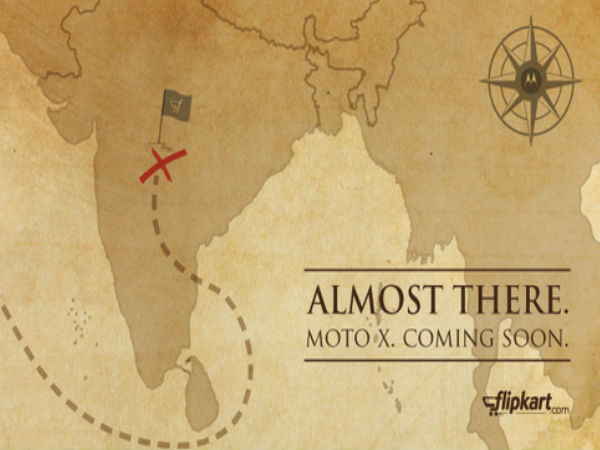 Flipkart Teases Moto X Launch in India: Exclusive Offer Also Hinted
