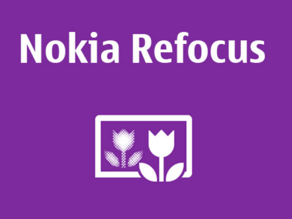 Nokia Refocus App Now Available for All Lumia Smartphones