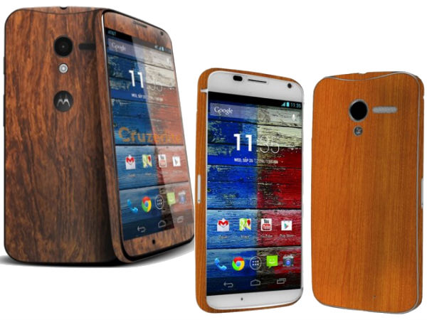 Moto X With Wood Panel Will Also Be Launched in India
