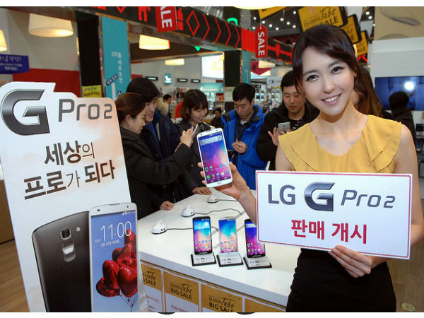 LG G Pro 2 Smartphone Roll-out Begins in Asian Markets Starting Today