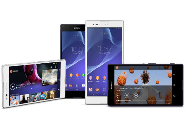 Sony Xperia T2 Ultra Dual Launched in India for Rs 25,990