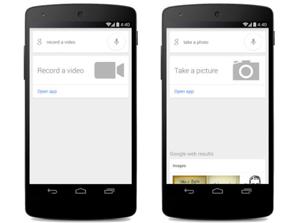 Google Search For Android Updated With Voice Command