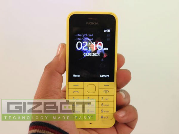 Nokia 220 Dual-SIM Now Available Online At Rs 2,730