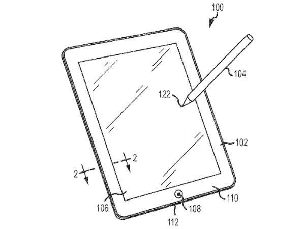 Apple Files Patent For New Advanced Stylus for iPad