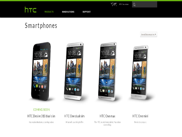 HTC Desire 310 Dual SIM Coming Soon To India, Spotted Online