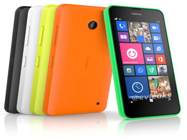 Nokia Lumia 630 Emerges in CamSpeed With Windows Phone 8.1