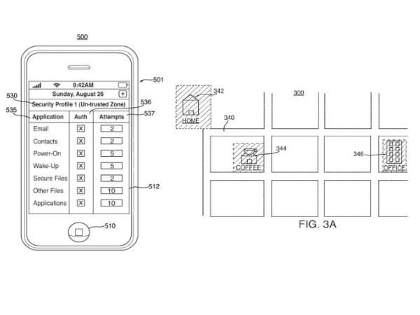 New Apple Patent Points At Location-Based Security, Split Cameras