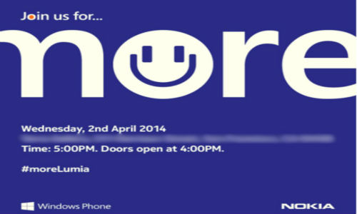 Nokia April 2nd Event Confirmed, Lumia 630, 930 Expected