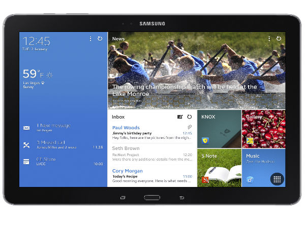 Samsung Galaxy NotePro 12.2 Now Available Online in India at Rs 61,890