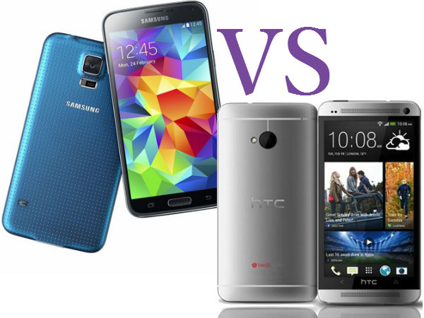 Samsung Galaxy S5 Vs HTC One (M8): A Detailed Comparison