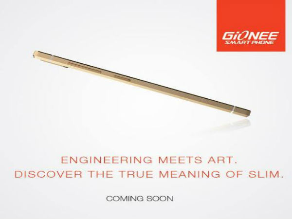 Gionee Teases Elife S5.5 India Launch On Facebook