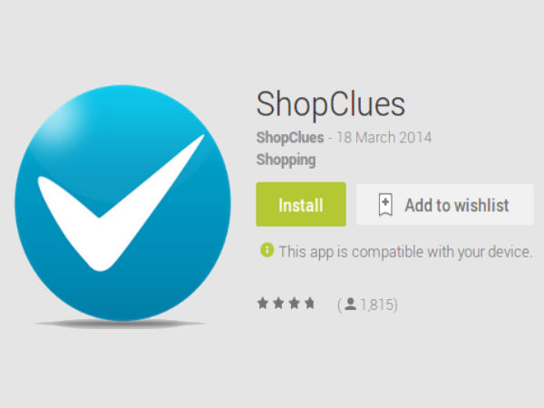 ShopClues Now Launches Mobile App For Android Users in India
