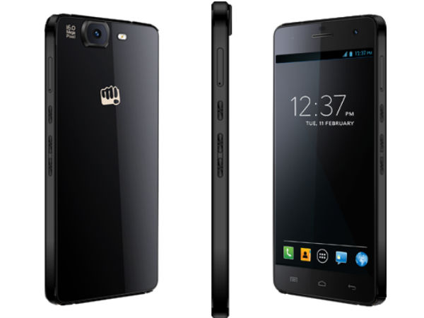Micromax Canvas Knight A350 With Octa Core CPU Launched For Rs 19,999