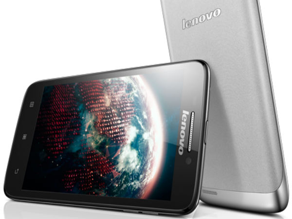 Lenovo S650 Smartphone Now Available in India For Rs 13,631