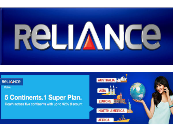 Reliance Launches International Roaming Packs For Its GSM Subscribers