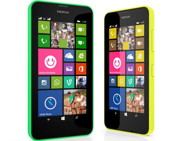 Nokia Lumia 630 and Lumia 635 With Windows Phone 8.1 Announced