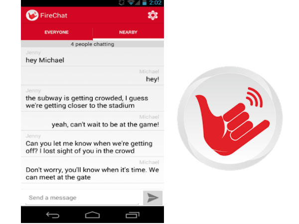 FireChat App for Android Lets You Chat Without Internet Connection