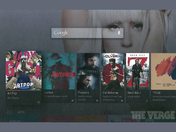 Google's Android TV Leaked Ahead of Official Announcement