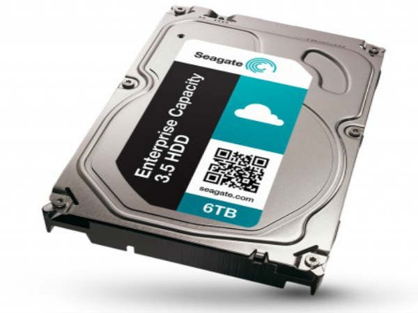 Seagate Introduces Fastest 6TB Hard Drive in the World