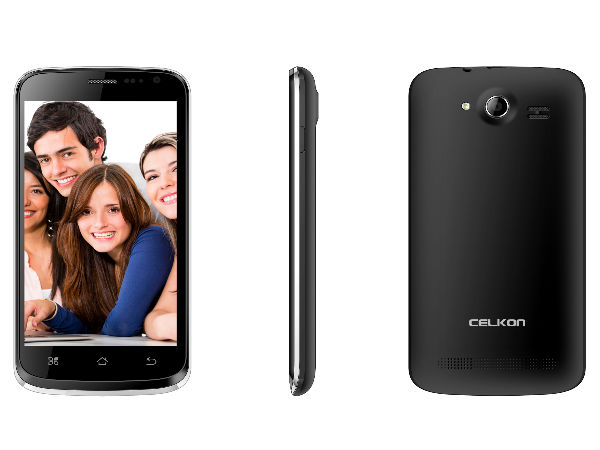 Celkon Campus A125 Launched With Dual SIM, 3G Support For Rs 6,299
