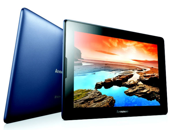 Lenovo contributes 20.3% market share in the overall tablet market