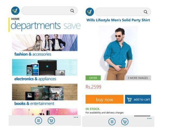 Official Flipkart App for Windows Phone Goes Live