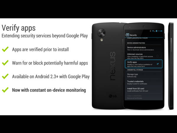 Google Bumping Up Android Security with Updated Verify Apps Offering