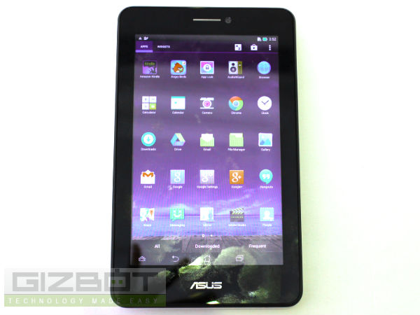 Asus Fonepad 7 Dual SIM Hands on Review: First Look