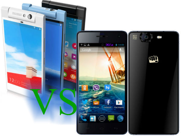 Gionee Elife E7 Mini Vs Micromax Canvas Knight: Specs Comparison