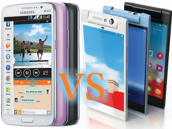 Gionee Elife E7 Mini Vs Samsung Galaxy Grand 2: Specs Comparison