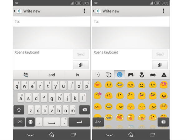 Sony Xperia Keyboard Launched in Google Play Store