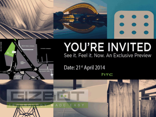 HTC India Schedules April 21 Event: HTC One M8 Launch Near?